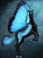 Morphinfly Stallion by ArtisinmyHeart