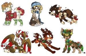 holiday designs auction. CLOSED by cyaf