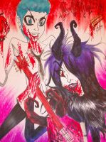 damaged botdf by Kona-chan19