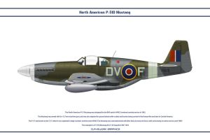 Mustang GB 129 Sqn 1 by WS-Clave
