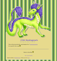 :COM: Neodragonarts Journal Skin by Metterschlingel
