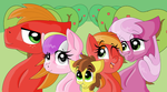 Apple Family Photo by PageTurner8