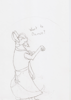 Elegent Curly wants to dance. Do you? by Shorty-Greydragon