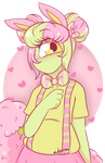 Cutie in Pink by JessiiRoo