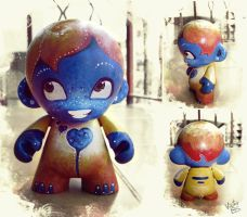 Custom Munny by happip