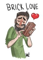 Brick Love by IAMARG