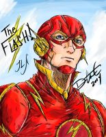The Flash-The Fastest Man Alive by DSirPenguin
