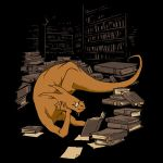 Book Wyrm by rebekieb