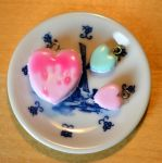 Macaron charms, glaced by trich