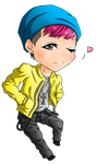 G-Dragon Chibi by uchi848