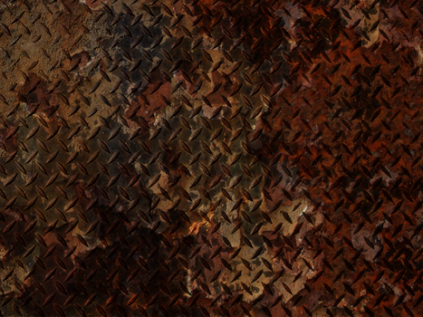 Rusted Metal Background by Pariah73
