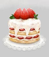 Strawberry shortcake by 10721