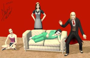 RHPS The Sims 2 by Neos-raven