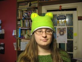 The Frog Hat by Critterinthedryer