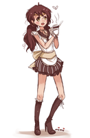 Sailor Subamara, senshi of coffee~! by Ipun