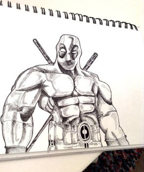 Deadpool by ZomB-G