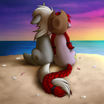Beach Thingy by wingedwolf94