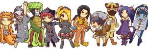Pokemon Akatsuki by Chibi-BB