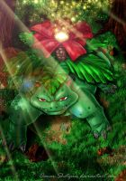 Venusaur by Osmar-Shotgun