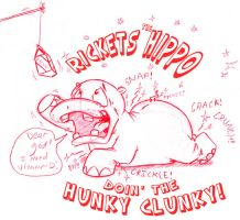 Rickettes The Hippo by GreyOfPTA