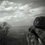 Shenandoah Valley from Skyline Drive - Argus 75 by rdungan1918
