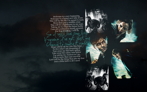 Deathly Hallows Wallpaper by fengra