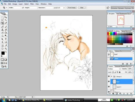 kiss me forever_preview :3 by fallenangel008
