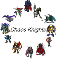 Chaos Knights by AmazonianFisherman