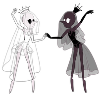 Pearlsona Extras- White and Black Imitation Pearls by fokkusu1991