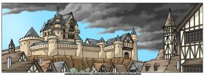 Grevaine Castle by LeighKellogg