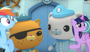 Octonauts and the Jellyfish Bloom crossover Part 6 by TobyandMavisforever