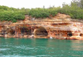Pictured Rocks 001 by BillReinhold