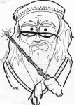 Albus Dumbledore by cat2004girl