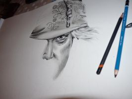 Captain Jack Sparrow WIP by MegRose29