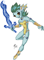 Titan Valkyries - Aquagirl IV by UltimeciaFFB