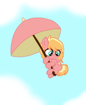 Flutter Blossom! (art trade) by MintyMagic74