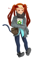 Gaia Online full body commission by Turtle-Duck
