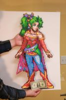 Huge Perler Beads Terra Tina Branford by kiskekokanut