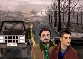 The Winchester Family by KanaGo