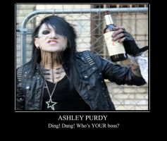 Ashley Purdy Motiv by LuciferxMorningStar