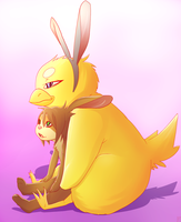 HAPPY EASTER or chocolate day by phation