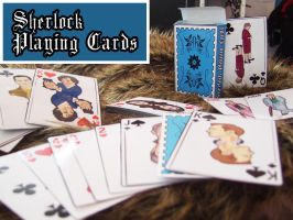 Sherlock Playing Cards by Nero749