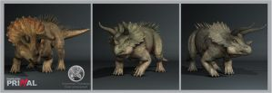 TheHunter Primal Triceratops by Dinossword