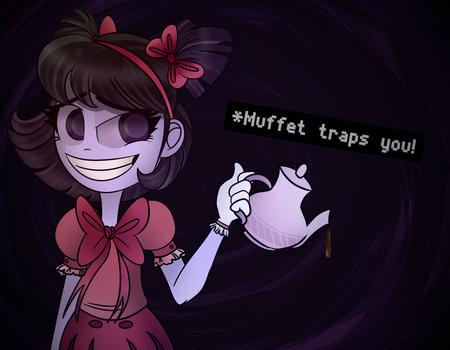 Muffet traps you! by ErmineDev