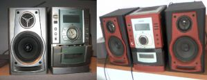 Loudspeakers Before and After by Sikorax