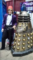 The Doctor, and the Dalek by OzKid96