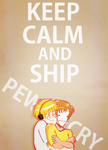 KEEP CALM AND SHIP PEWDIECRY by NevadaBadass