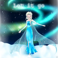 Elsa - Let it Go by ShooterXchan