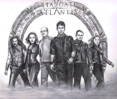 Stargate Atlantis: Season 5 by MyWorld1