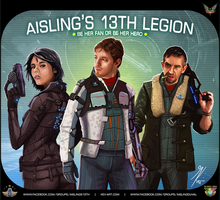 Elite Dangerous: Aisling's 13th Legion Recruitment by KevinMassey